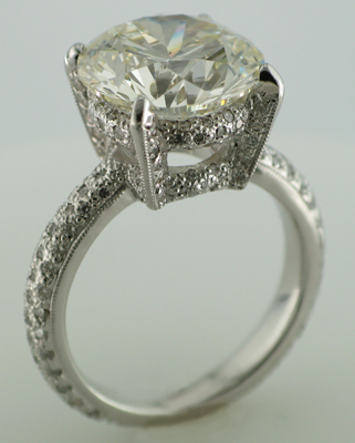 David Brown Diamond Setting